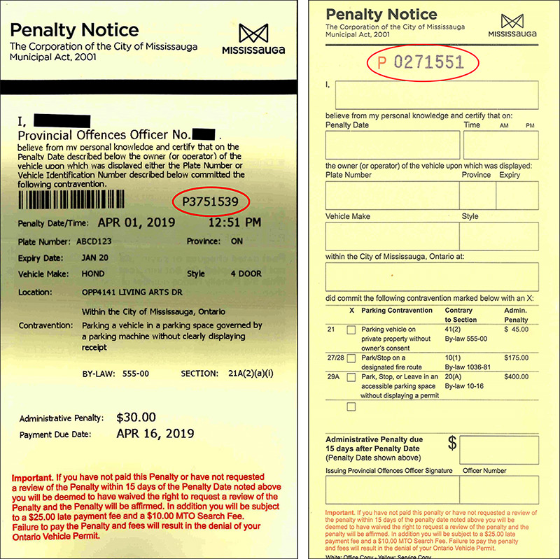 Pay a parking ticket – City of Mississauga